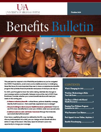 October 2020 Benefits Bulletin